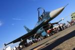 K.Tさんが、浜松基地で撮影した航空自衛隊 F-2Aの航空フォト(飛行機 写真・画像)