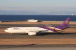 わんだーさんが、中部国際空港で撮影したタイ国際航空 A330-343Xの航空フォト(飛行機 写真・画像)