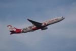 JA1118Dさんが、クアラルンプール国際空港で撮影したエアアジア・エックス A330-343Xの航空フォト(飛行機 写真・画像)