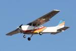 U.Tamadaさんが、名古屋飛行場で撮影したトライスター航空 172M Skyhawkの航空フォト(飛行機 写真・画像)