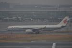 qooさんが、羽田空港で撮影した中国国際航空 A330-343Eの航空フォト(飛行機 写真・画像)