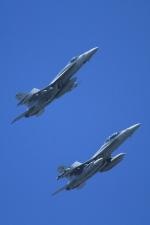 K.Tさんが、厚木飛行場で撮影したアメリカ海軍 F/A-18E Super Hornetの航空フォト(飛行機 写真・画像)