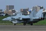 K.Tさんが、厚木飛行場で撮影したアメリカ海軍 EA-18G Growlerの航空フォト(飛行機 写真・画像)
