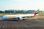 ちっとろむさんが、シンガポール・チャンギ国際空港で撮影したエミレーツ航空 777-31H/ERの航空フォト(飛行機 写真・画像)