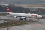 kan787allさんが、成田国際空港で撮影したスイスインターナショナルエアラインズ A340-313Xの航空フォト(飛行機 写真・画像)