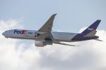 代打の切札さんが、関西国際空港で撮影したフェデックス・エクスプレス 777-FS2の航空フォト(飛行機 写真・画像)