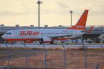 代打の切札さんが、関西国際空港で撮影したチェジュ航空 737-86Jの航空フォト(飛行機 写真・画像)