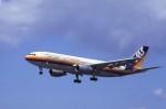 kumagorouさんが、仙台空港で撮影した日本エアシステム A300B4-203の航空フォト(飛行機 写真・画像)