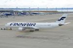 ちゃぽんさんが、中部国際空港で撮影したフィンエアー A330-302Xの航空フォト(飛行機 写真・画像)