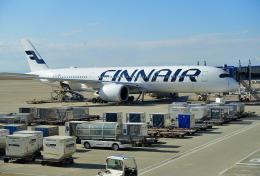 mojioさんが、中部国際空港で撮影したフィンエアー A350-941XWBの航空フォト(飛行機 写真・画像)