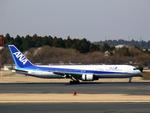 JA8077さんが、成田国際空港で撮影した全日空 767-381/ERの航空フォト(写真)