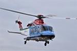 ヘリオスさんが、東京ヘリポートで撮影した新潟県消防防災航空隊 AW139の航空フォト(飛行機 写真・画像)