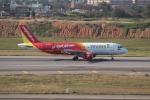 OMAさんが、台湾桃園国際空港で撮影したベトジェットエア A320-214の航空フォト(飛行機 写真・画像)