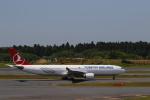 ☆ライダーさんが、成田国際空港で撮影したターキッシュ・エアラインズ A330-303の航空フォト(飛行機 写真・画像)
