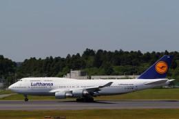☆ライダーさんが、成田国際空港で撮影したルフトハンザドイツ航空 747-430の航空フォト(飛行機 写真・画像)