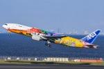あっくんkczさんが、羽田空港で撮影した全日空 777-281/ERの航空フォト(飛行機 写真・画像)
