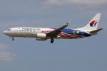 TIA spotterさんが、クアラルンプール国際空港で撮影したマレーシア航空 737-8H6の航空フォト(飛行機 写真・画像)