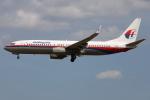 TIA spotterさんが、クアラルンプール国際空港で撮影したマレーシア航空 737-8FHの航空フォト(飛行機 写真・画像)