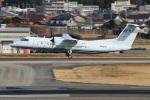 reonさんが、名古屋飛行場で撮影した国土交通省 航空局 DHC-8-315Q Dash 8の航空フォト(飛行機 写真・画像)