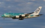 鉄バスさんが、成田国際空港で撮影した全日空 A380-841の航空フォト(飛行機 写真・画像)