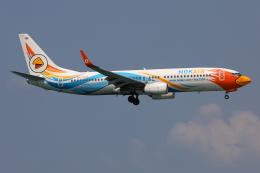TIA spotterさんが、プーケット国際空港で撮影したノックエア 737-88Lの航空フォト(飛行機 写真・画像)