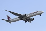 BTYUTAさんが、スワンナプーム国際空港で撮影したカタール航空 777-3DZ/ERの航空フォト(飛行機 写真・画像)