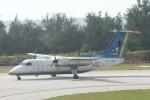 Mr.boneさんが、南大東空港で撮影した琉球エアーコミューター DHC-8-103 Dash 8の航空フォト(飛行機 写真・画像)