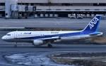 鉄バスさんが、羽田空港で撮影した全日空 A320-211の航空フォト(飛行機 写真・画像)