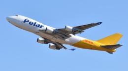 saoya_saodakeさんが、成田国際空港で撮影したポーラーエアカーゴ 747-45EF/SCDの航空フォト(飛行機 写真・画像)