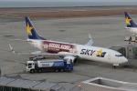 uhfxさんが、神戸空港で撮影したスカイマーク 737-8ALの航空フォト(飛行機 写真・画像)