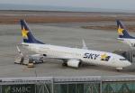 uhfxさんが、神戸空港で撮影したスカイマーク 737-8FZの航空フォト(飛行機 写真・画像)
