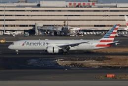 SIさんが、羽田空港で撮影したアメリカン航空 787-9の航空フォト(飛行機 写真・画像)