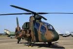 K.Tさんが、茨城空港で撮影した陸上自衛隊 OH-1の航空フォト(飛行機 写真・画像)