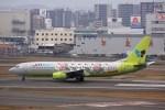 けいとパパさんが、福岡空港で撮影したジンエアー 737-86Nの航空フォト(飛行機 写真・画像)