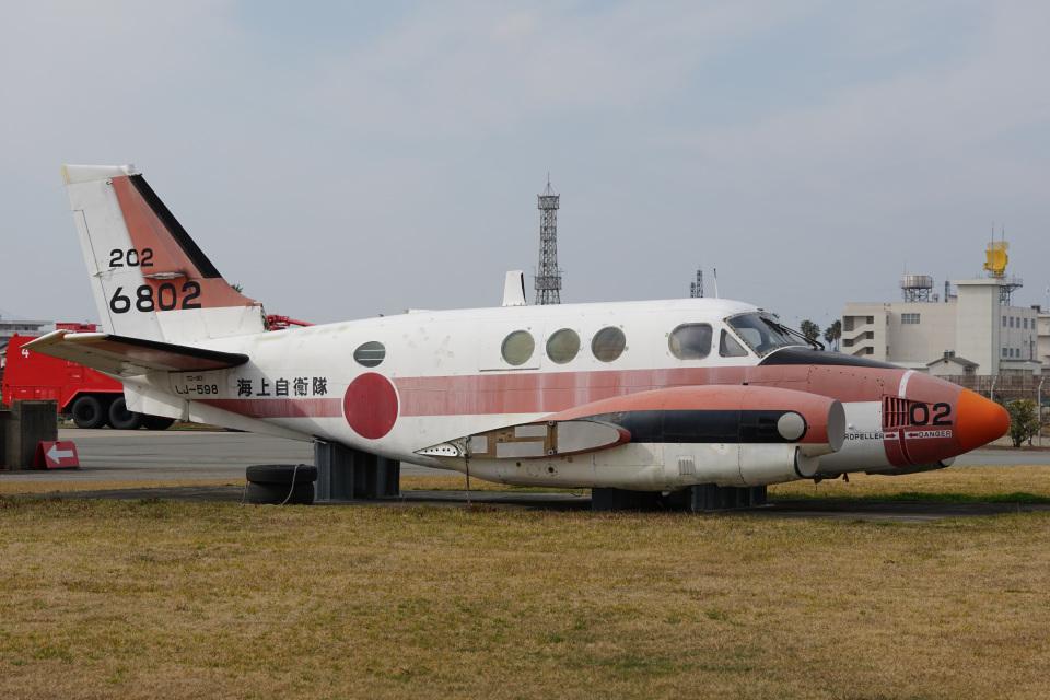 神宮寺ももさんの海上自衛隊 Beechcraft 90 King Air (6802) 航空フォト