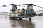 つっさんさんが、那覇空港で撮影した航空自衛隊 CH-47J/LRの航空フォト(飛行機 写真・画像)