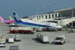 uhfxさんが、那覇空港で撮影したANAウイングス 737-54Kの航空フォト(飛行機 写真・画像)