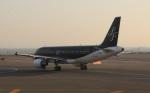 uhfxさんが、羽田空港で撮影したスターフライヤー A320-214の航空フォト(飛行機 写真・画像)
