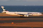 きんめいさんが、中部国際空港で撮影したキャセイパシフィック航空 A330-343Xの航空フォト(飛行機 写真・画像)