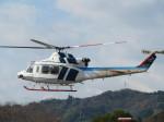 ランチパッドさんが、静岡ヘリポートで撮影した中日本航空 412EPの航空フォト(飛行機 写真・画像)