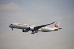 レドームさんが、羽田空港で撮影した日本航空 A350-941XWBの航空フォト(飛行機 写真・画像)