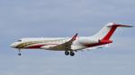 パンダさんが、成田国際空港で撮影したTVPX AIRCRAFT SOLUTIONS INC BD-700-1A10 Global 6000の航空フォト(飛行機 写真・画像)