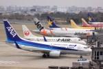 けいとパパさんが、福岡空港で撮影した全日空 737-781の航空フォト(飛行機 写真・画像)