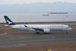 yabyanさんが、中部国際空港で撮影したキャセイパシフィック航空 A350-941XWBの航空フォト(飛行機 写真・画像)
