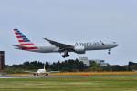 ポン太さんが、成田国際空港で撮影したアメリカン航空 777-223/ERの航空フォト(飛行機 写真・画像)