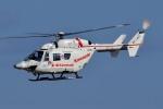 ブルーさんさんが、名古屋飛行場で撮影した川崎重工業 BK117B-2の航空フォト(飛行機 写真・画像)