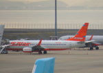 KAZKAZさんが、中部国際空港で撮影したチェジュ航空 737-8ASの航空フォト(飛行機 写真・画像)