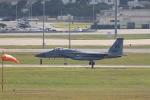 TAKAHIDEさんが、嘉手納飛行場で撮影したアメリカ空軍 F-15C-21-MC Eagleの航空フォト(飛行機 写真・画像)