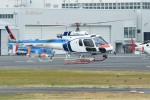 あきらっすさんが、東京ヘリポートで撮影した中日本航空 AS350B3 Ecureuilの航空フォト(飛行機 写真・画像)