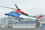 あきらっすさんが、東京ヘリポートで撮影した新潟県消防防災航空隊 AW139の航空フォト(飛行機 写真・画像)